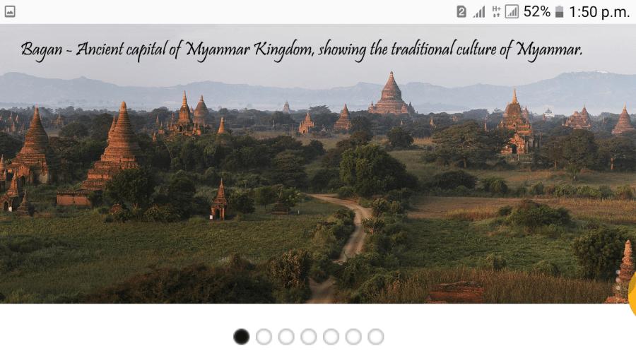 Picturesque Bagan.