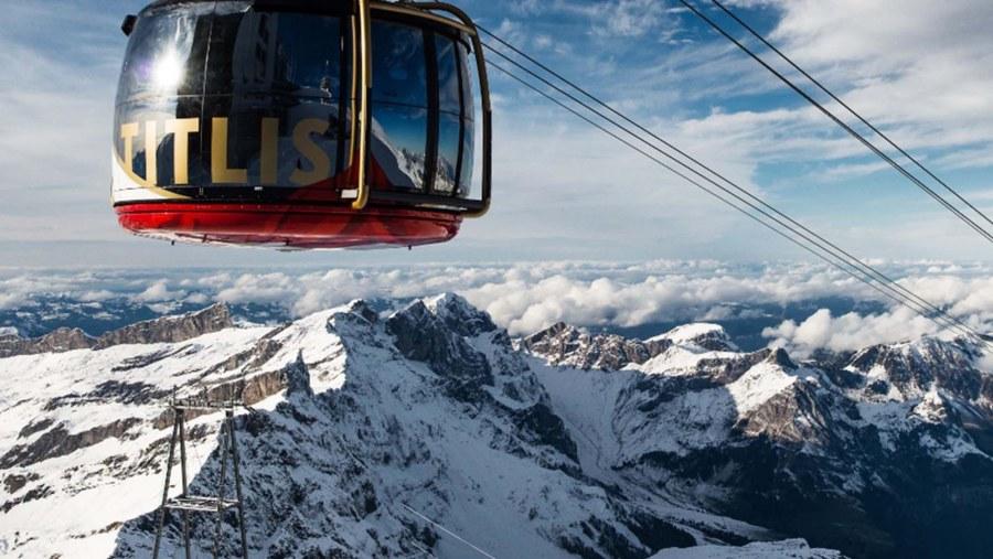 Mount Titlis - Revolving Gondola