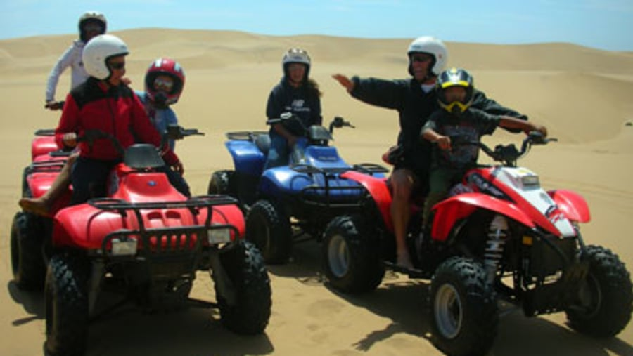 Quad biking in Namibia 2 day safari