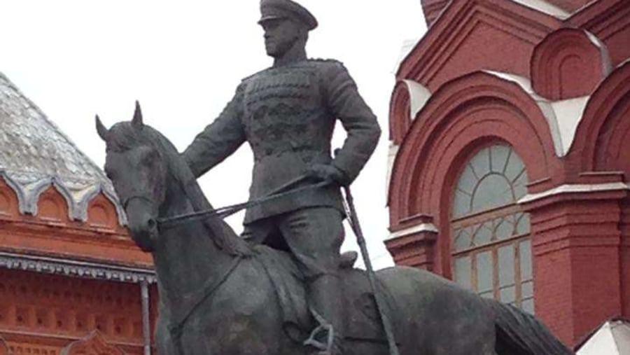 Monument to Marechal Joukov © Inna Goudkova