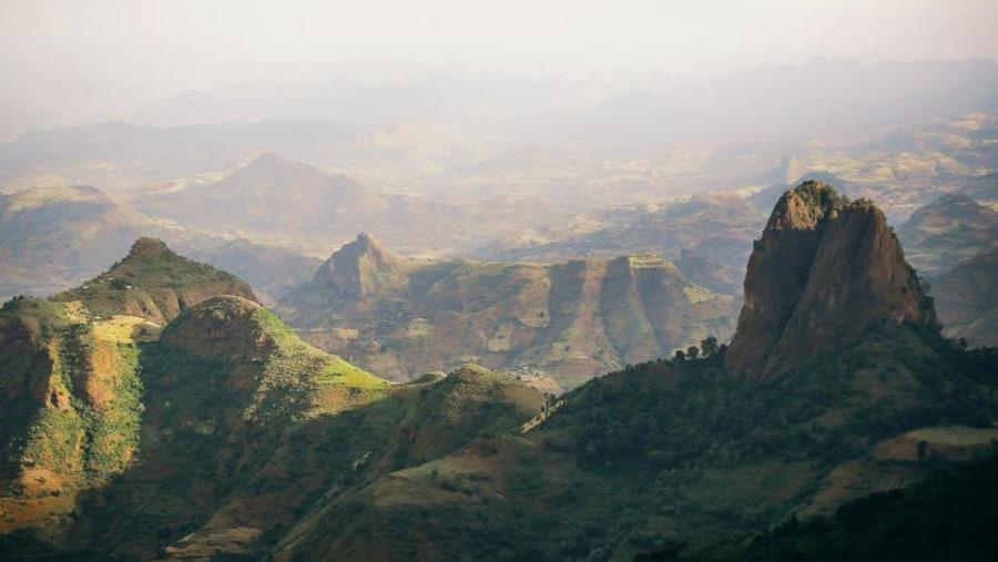 Simen mountain
