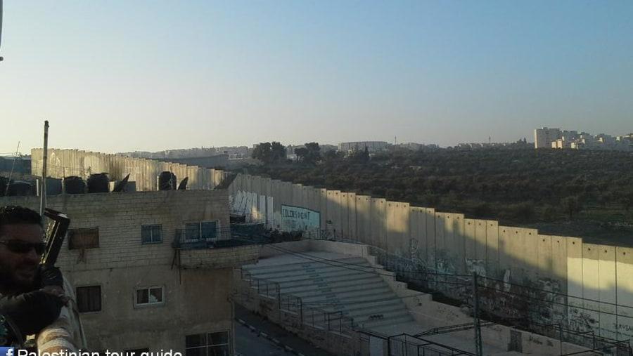 Separation wall