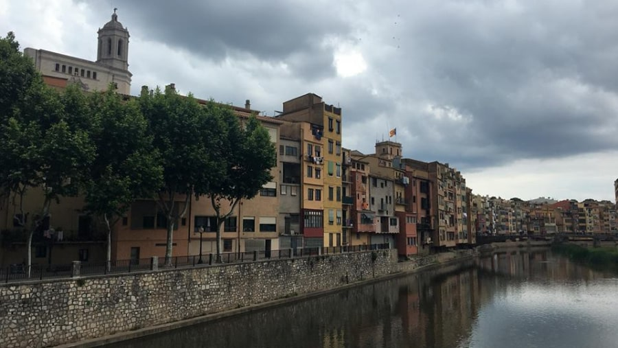 Houses on River Onyar