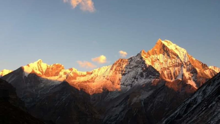 Sunset view in fishtail