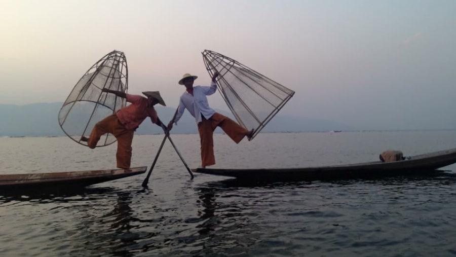 Unique leg rowers