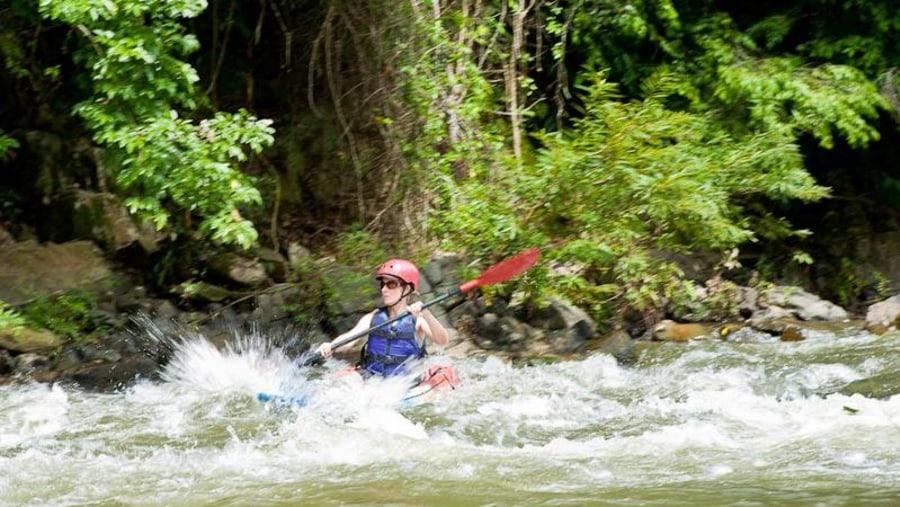 Kayaking at Nampa river in LPQ