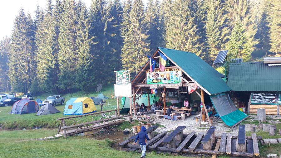 Base chalet at Padis - Apuseni Mountains, Western Carpathians