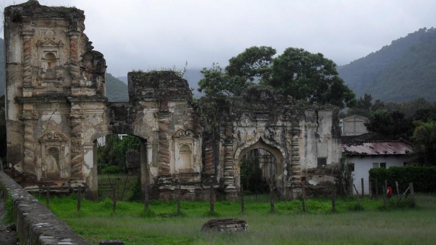 Ruins of Candelaria's church