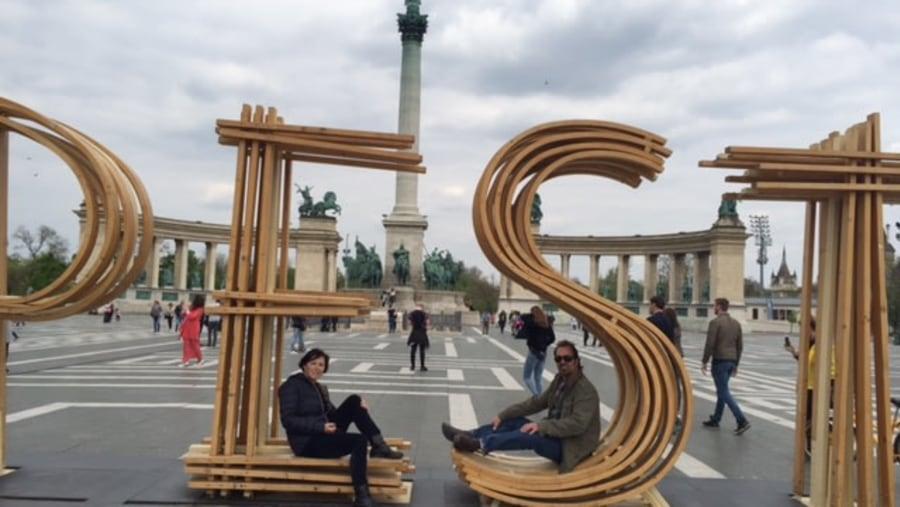 Budapest, City-Park, Hiro square,