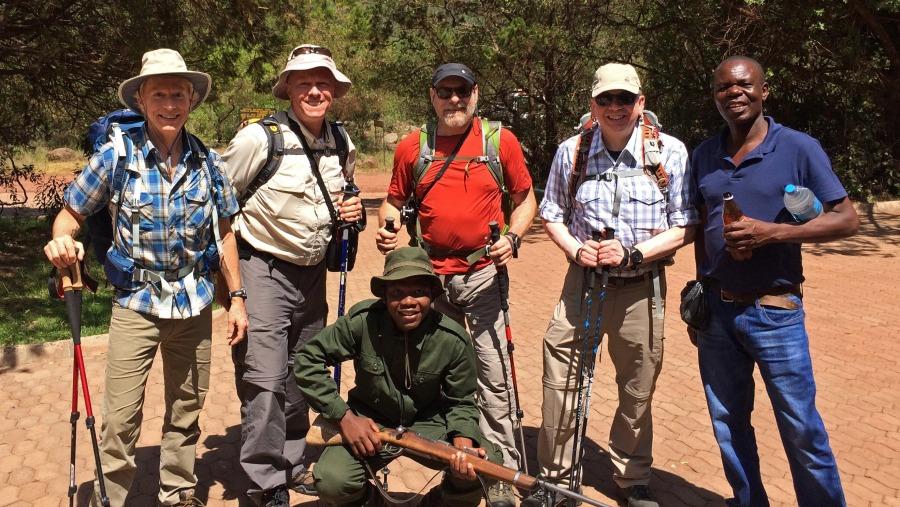 Mt. Meru-Arusha National Park Training Hike