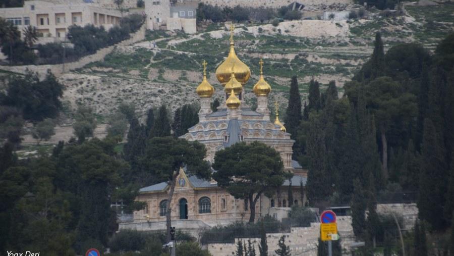 Magdelane Church, Mt of Olives