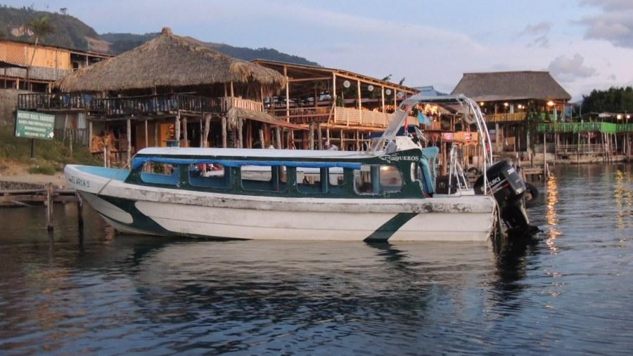 boat tour on lake atitlan