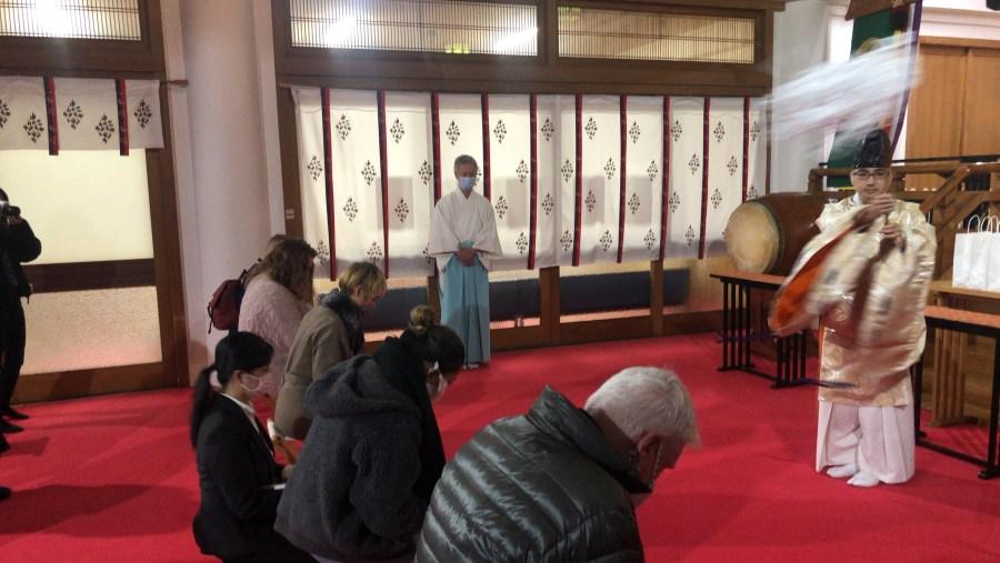 Utoh Shrine, Gokitou experience