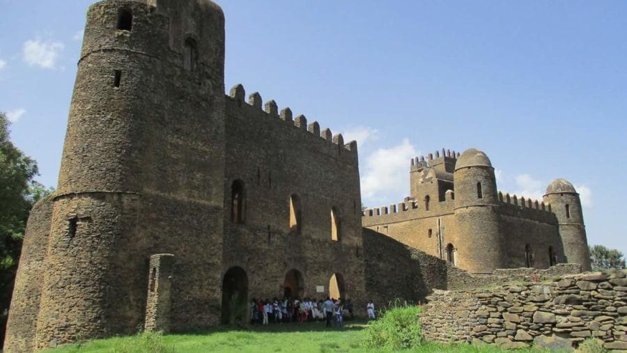 Gonder Fasilides Castle