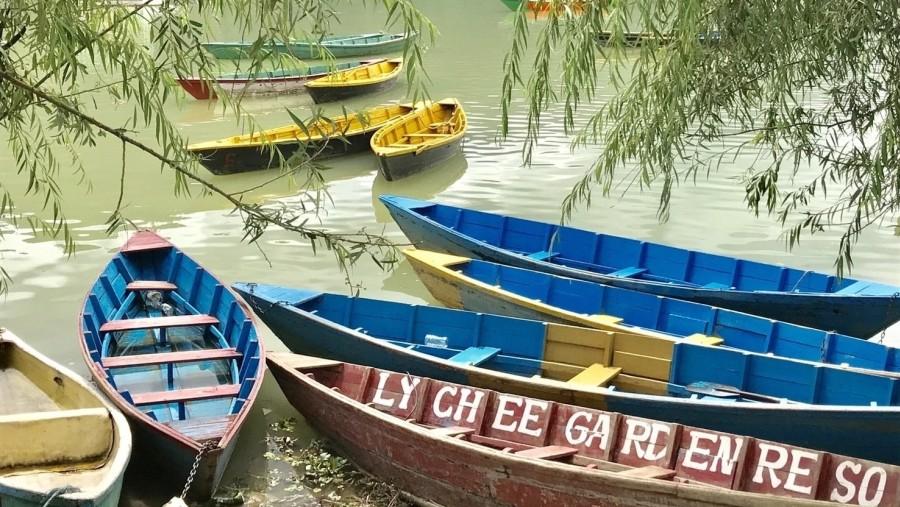 Pokhara boating