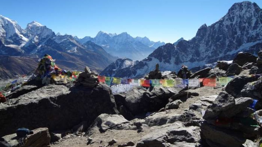 View from Gokyo lake