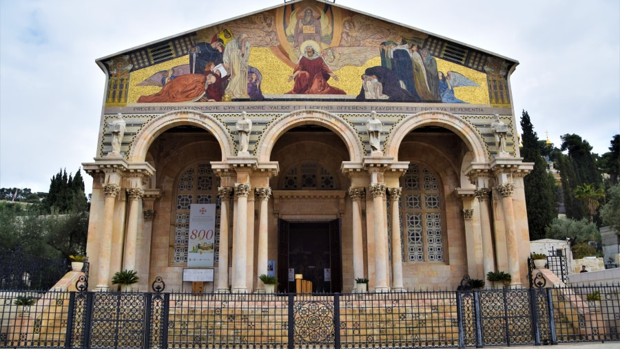 The Church of All Nations, Mt of Olives