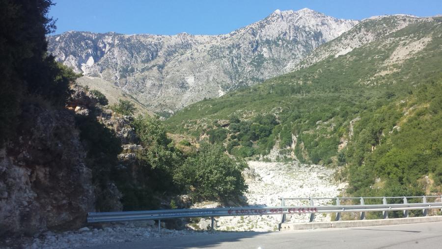 Llogara mountain