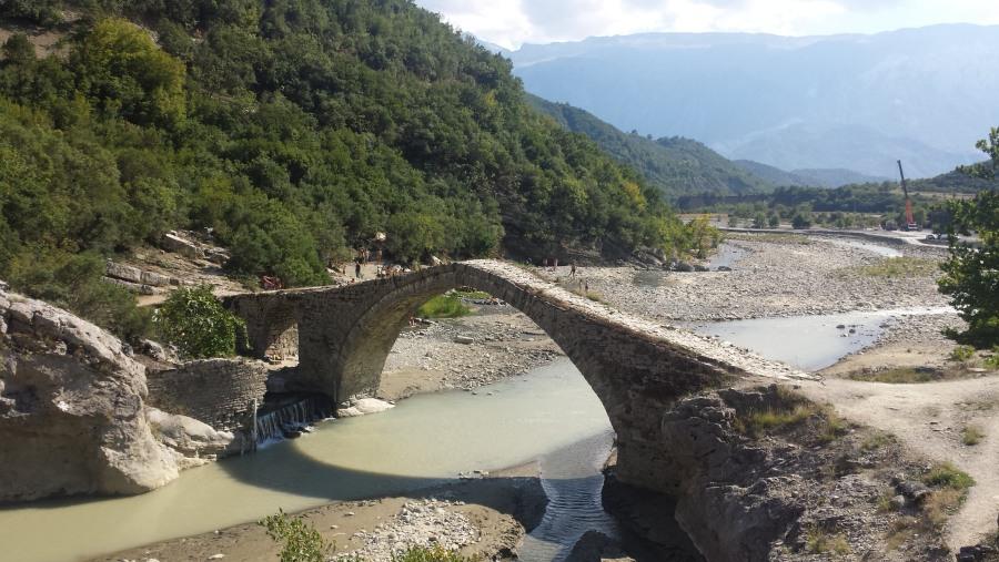 Bridge of ston in benje natural SPA