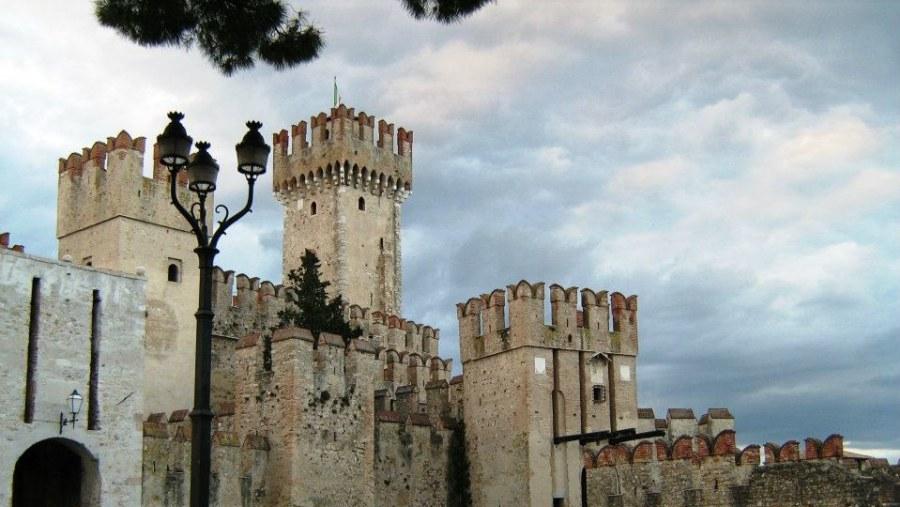 Scaliger castle,