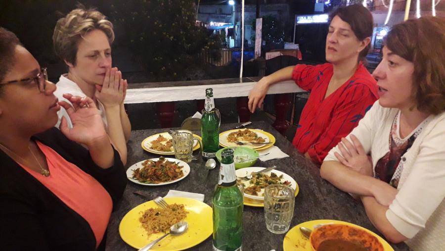 Heavy Indian food