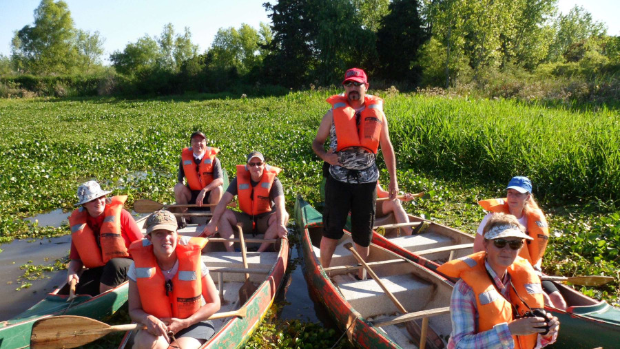 Canoe Tour in the Tigre delta.