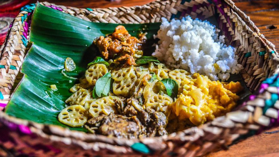 Authentic Sri Lanka Food