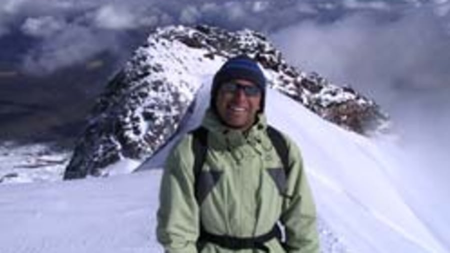 Andes climb. yeah it's Me