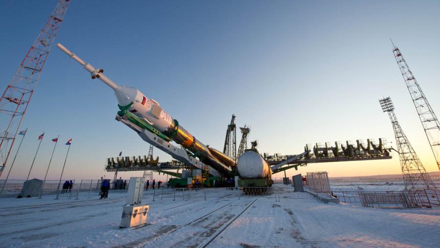 Baikonur: spacecraft ready to launch