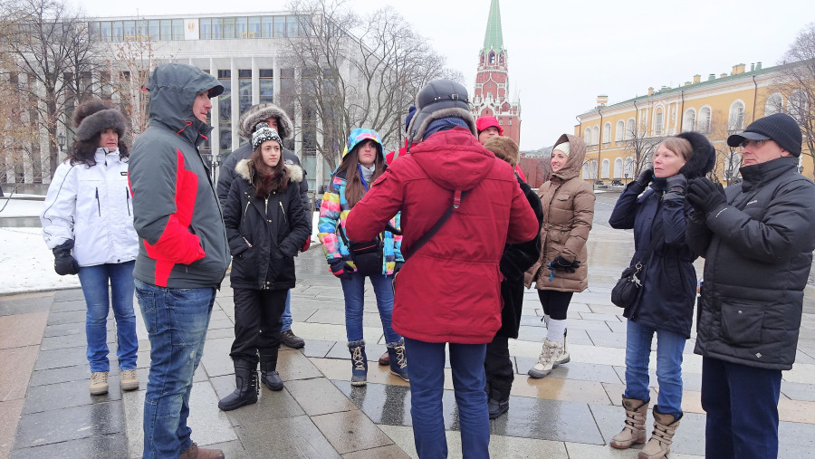 Tours con guía privado en  Moscú