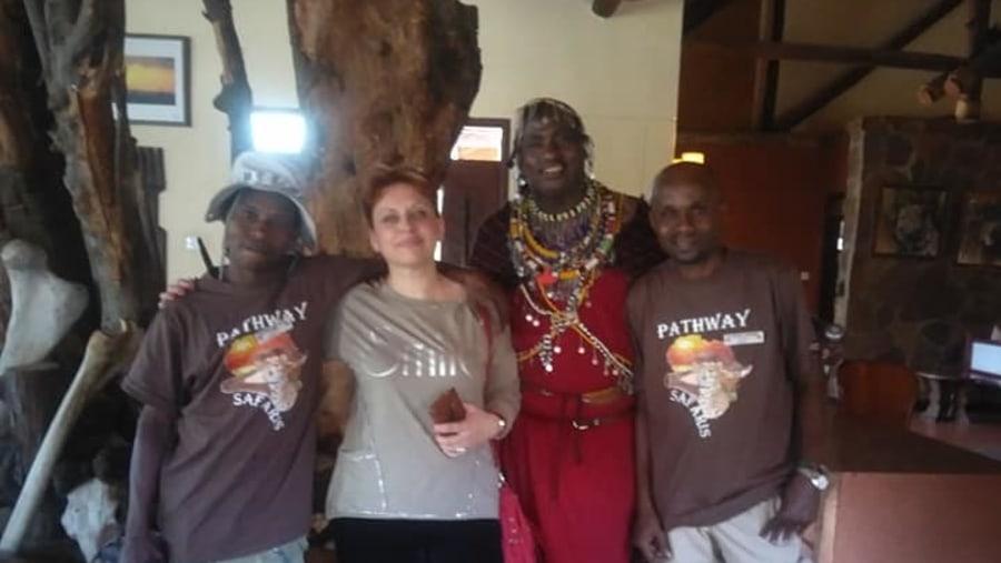 Masai photo session