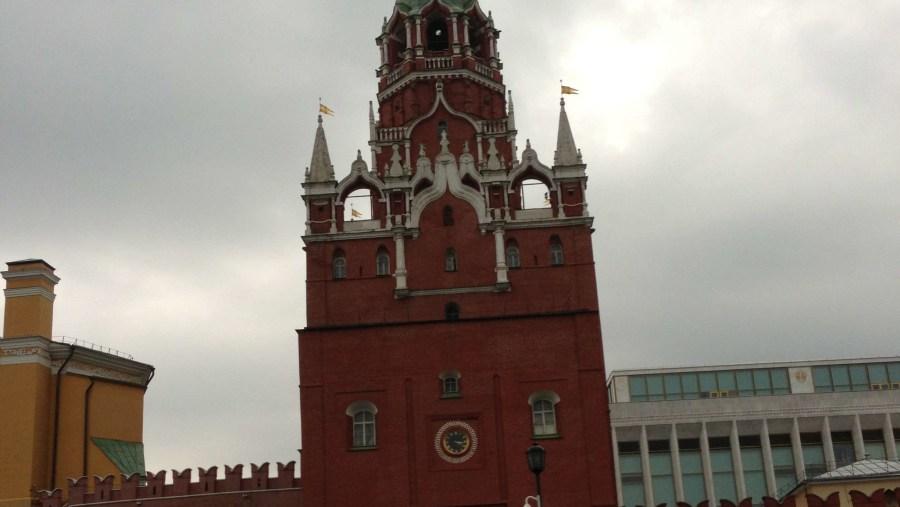 Kremlin, Trinity tower © Inna Goudkova