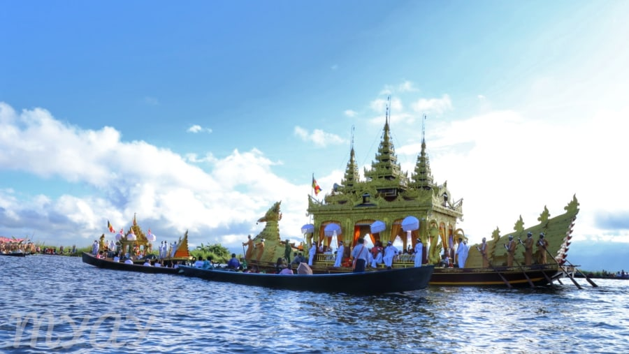 Phaungdawoo pagoda festival