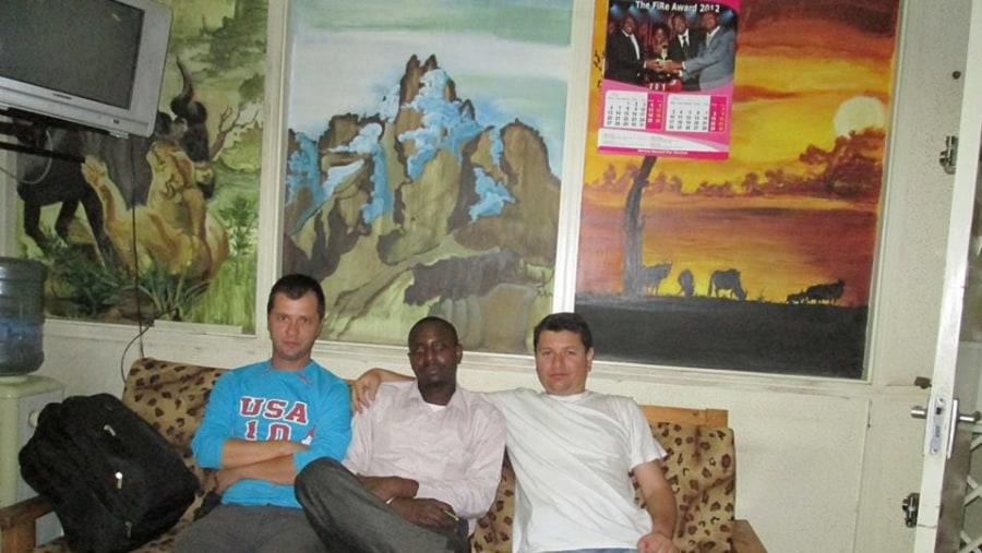 JOHN,DAVID AND CLAUDIU