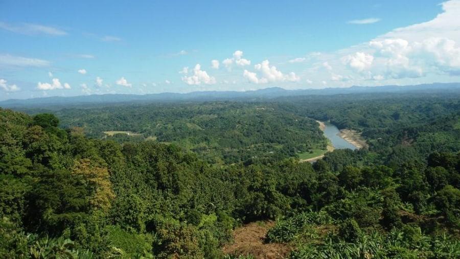Scenery of Sangu River