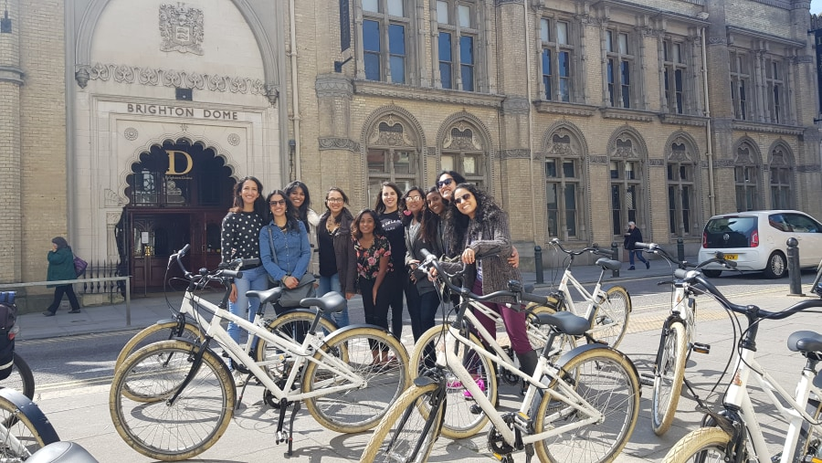 Group bike tours of Brighton