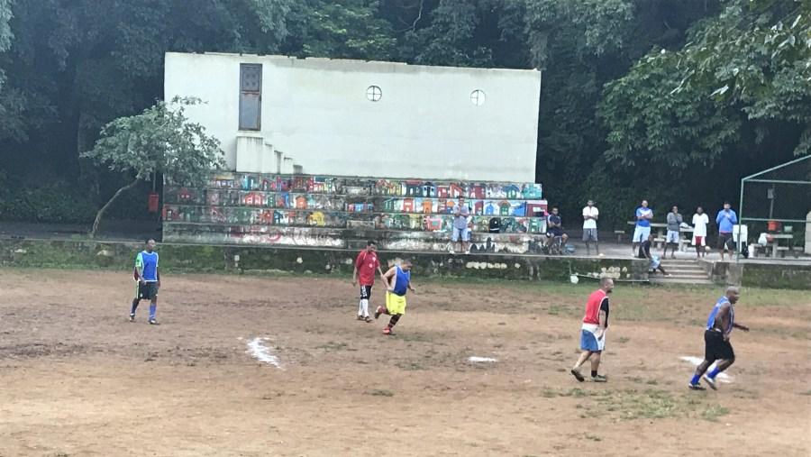 Soccer Game in Chacara do Ceu Favela