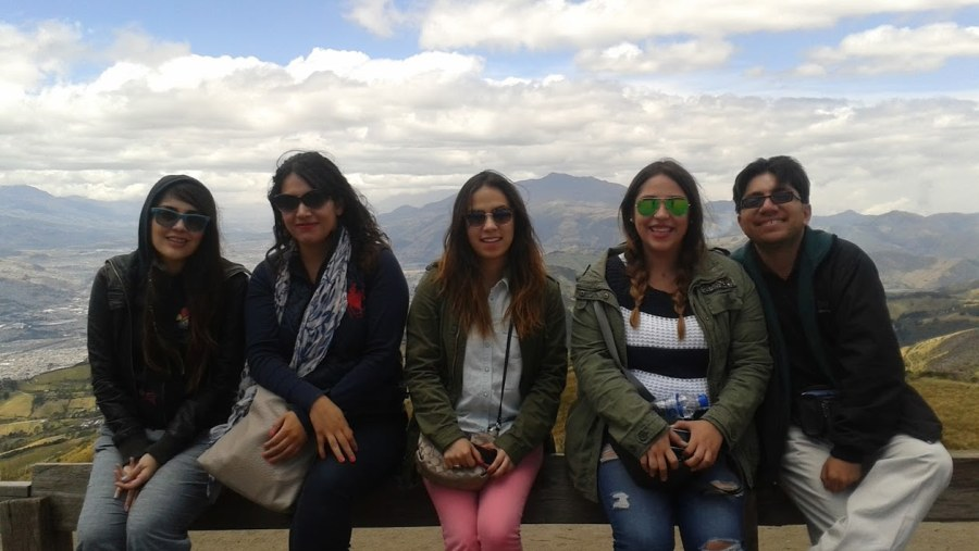In the Pichincha volcano.