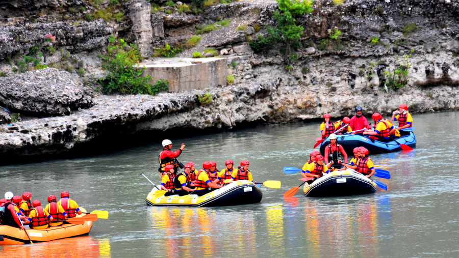 Albania rafting team Our goal is to ensure that you are safe and have the most fun on all our Albania adventure tours
