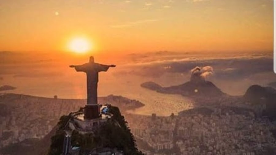 Christ on top of Corcovado Mountain