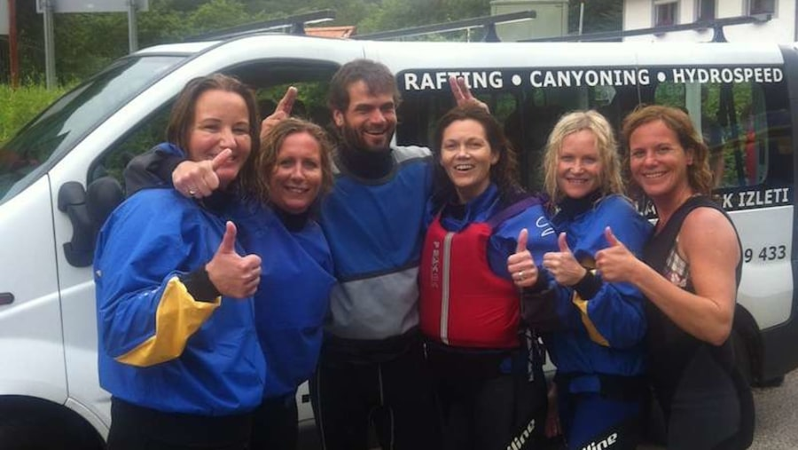 Rafting - after :)