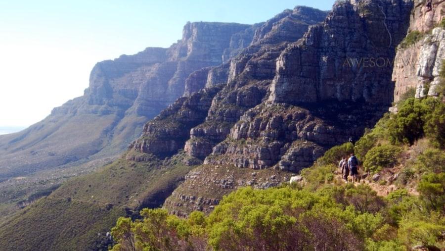 12 Apostles on Table Mountain