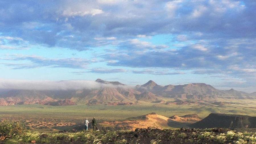 Damaraland after the rains, Photo Philippe Laporte