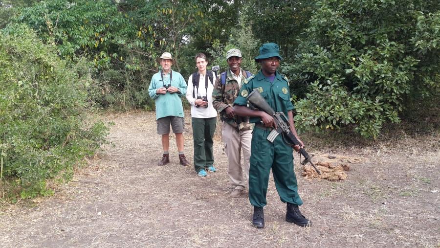Birding at Liwonde with Samuel