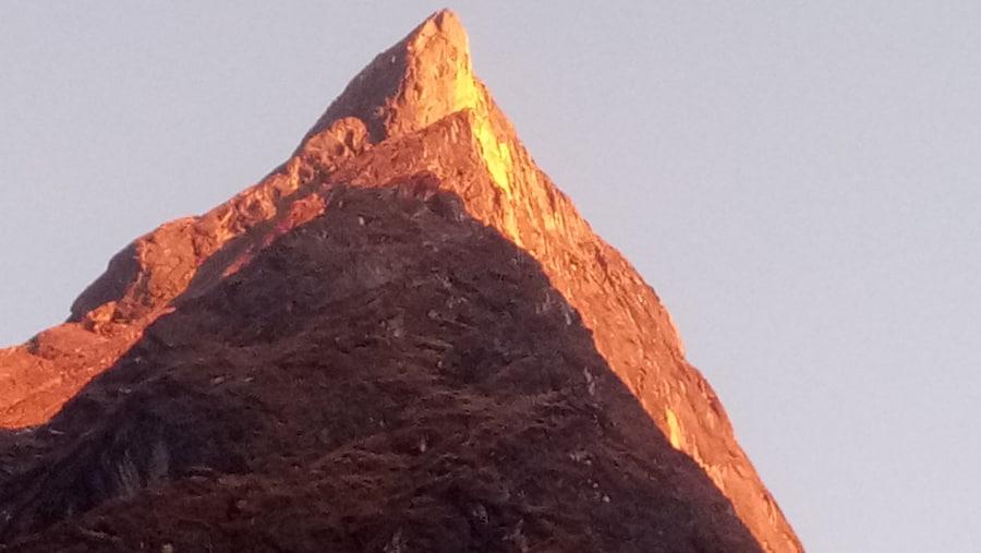 Sunset view at Himalayan