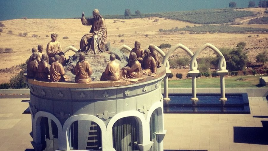 Jesus and his Apostles in Mt Beatitudes