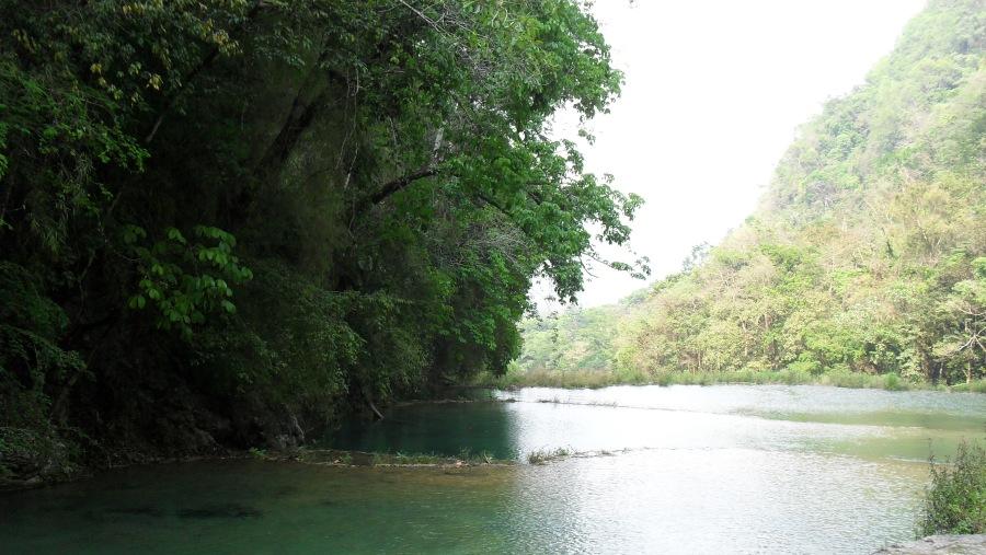 More views of the several natural pools