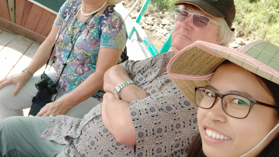 Boat trip to Ava