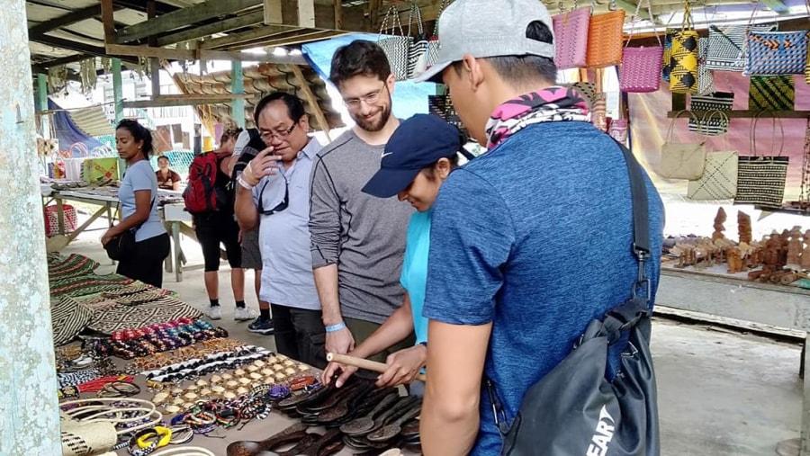 Batu Bungan Penan Market