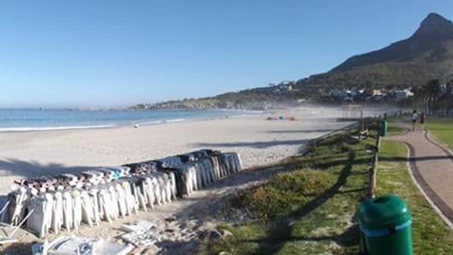 Camps Bay beach...awaiting the day!!!